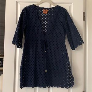 Tory Burch swim coverup.  Like new